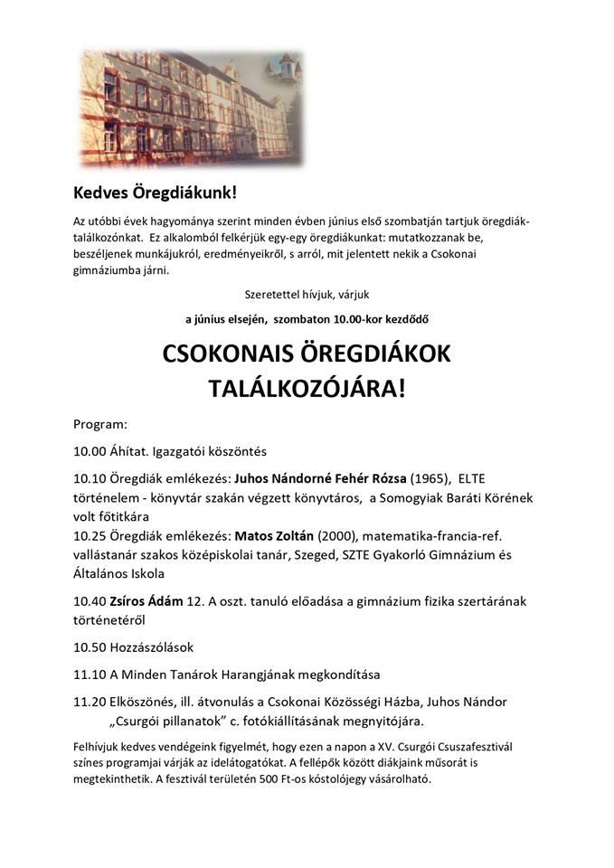 244dfc072a Csokonai Vitéz Mihály Református Gimnázium, Általános Iskola és ...
