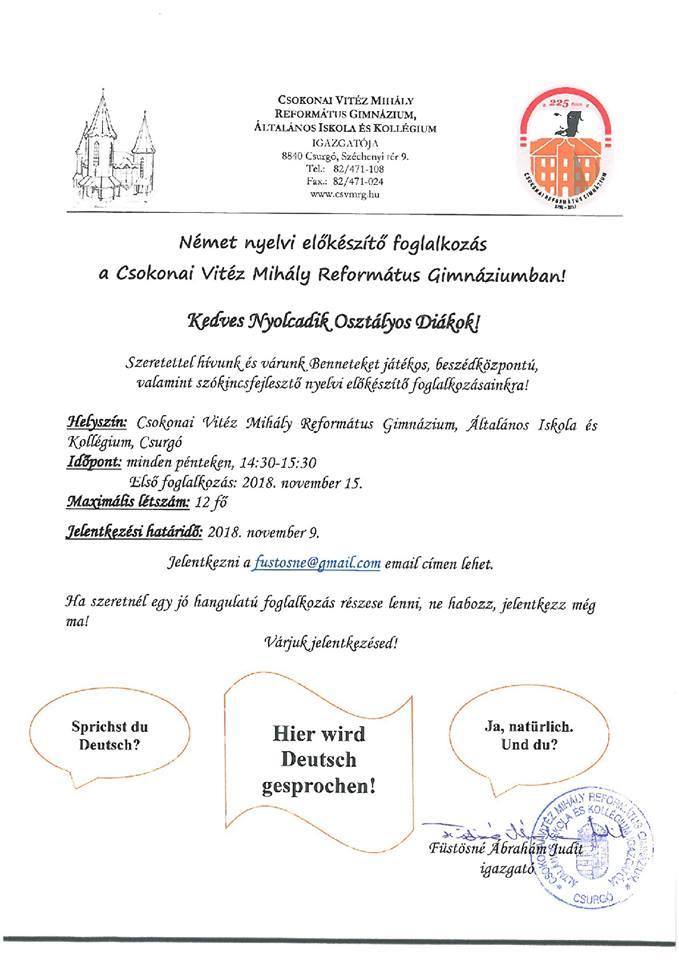 Csokonai Vitéz Mihály Református Gimnázium b9ae6550cc